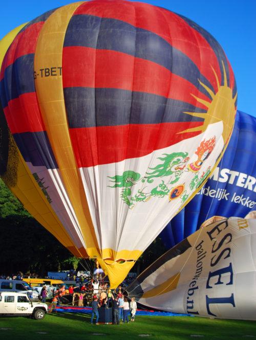 Tibetballon Tashi Gyaltsen voor het eerst in Nederland