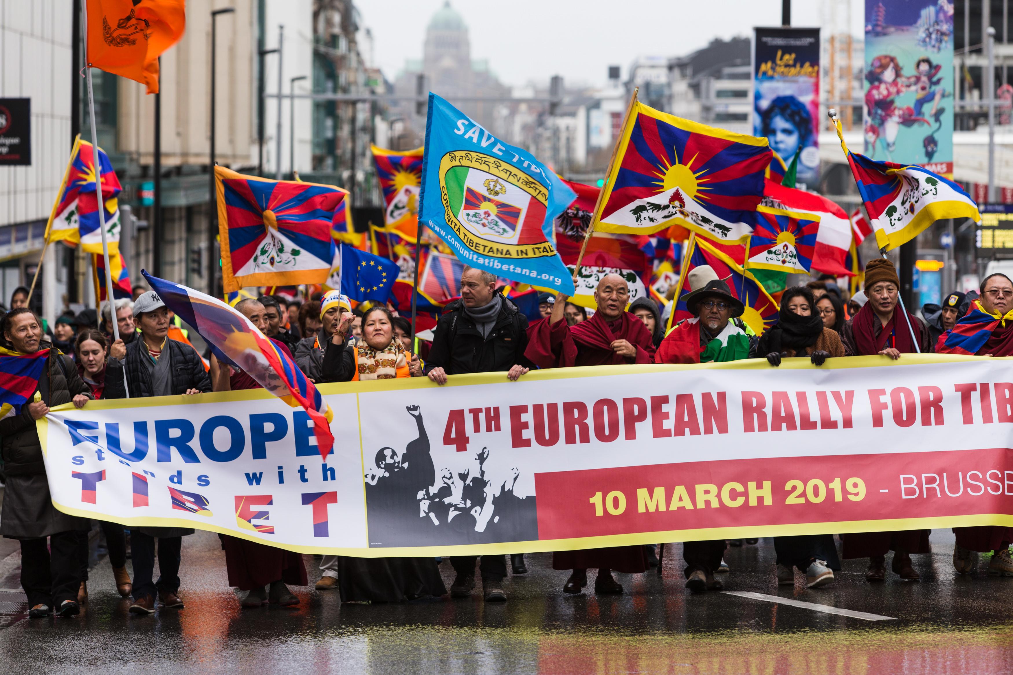 Demonstratie Brussel 10 maart 2019
