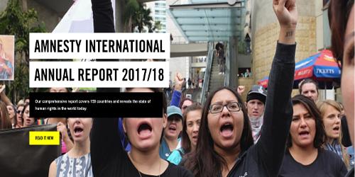 Amnesty Internation Report 2018