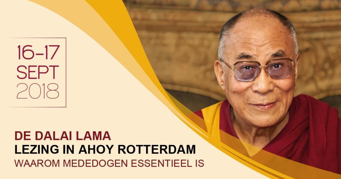 Bezoek Dalai Lama 2018