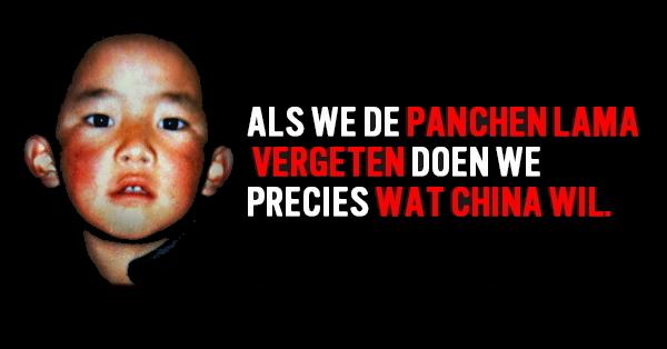 Panchen Lama 30 jaar gevangen.