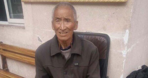 Jampa Dorje,75 jaar oud.