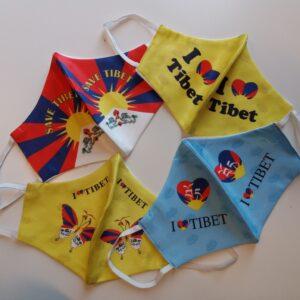 ICT mondkapjes: I love Tibet